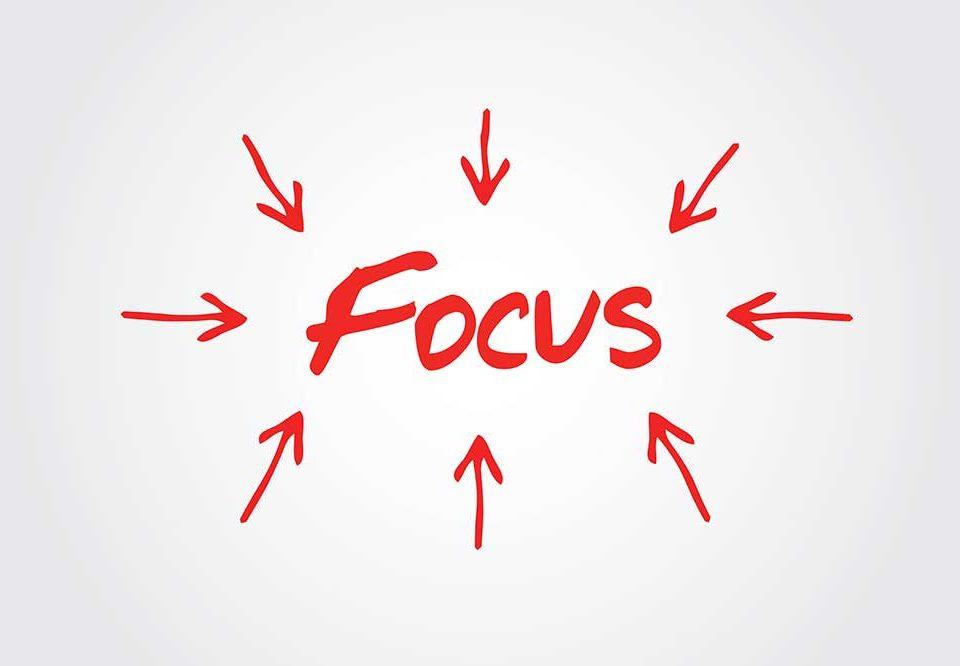focus tijden vergaderen